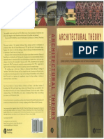 Architectural Theory - Vol. II