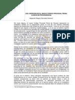 Las Medidas de Coercion en El Nuevo Codigo Procesal Penal (Casos de Procedencia)