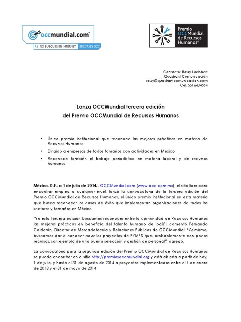 Boletín Premio OCCMundial 2014 final ce5afd6cace