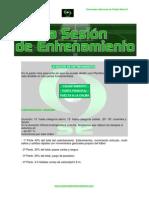 Ejemplo Sesion de Entrenamiento Futbol 7
