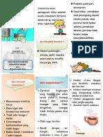 Leaflet Insomnia Gangguan Tidur