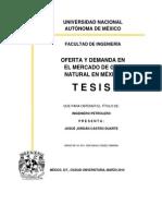 Tesis Oferta y Demanda de GN en Mexico