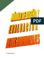Modulo Diseno y Evaluacion de Los Aprendizajes