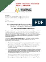 Children First Lawsuit Press Release