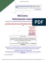 MS2_Extra EAE Guía de Afinación