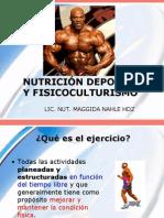 Nutrición Deportiva y Ejercicio - Fisicoculturistas