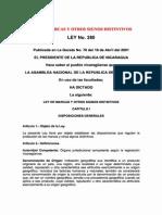 Ley No. 380 y 539 - Ley de Marcas y Otros Signos Distintivos y Su Reforma - PDF