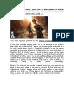 Recopilación, Video Game Design 1