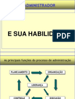 Administacao e o Papel Do Adm