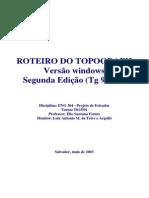 Roteiro Topograph Corrigido - EnG304