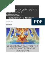 El Despertar Cuántico 7