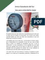 El polémico Gasoducto del Sur, 5 preguntas para entenderlo mejor
