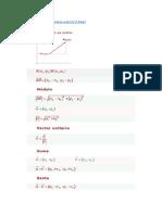 Formulas de Geometria Vectorial