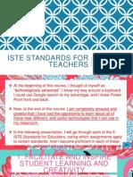 iste standards for teachers final