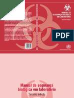 Manual de Seguranca Biológica Em Laboratório - OMS