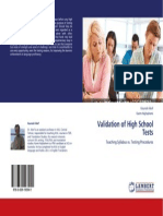 Validation of High School Tests