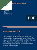 Advanced Data Structures - python