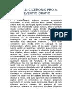 Pro a. Cluentio