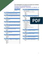 Tabela de Custas (Atualizada e Com Notas)