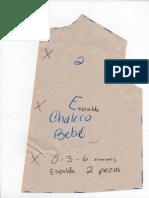 Espalda Chaleco Bebe, Sacar 1 Pieza