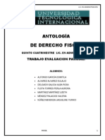 Antologia Derecho Fiscal