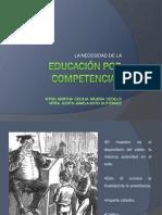 1 La Necesidad de La Educación Por Competencias