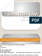 Clase 5. Derecho de los contratos