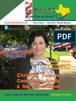 Informativo TX Quinceava Edicion Julio 2014 PDF FINAL 2