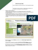 NH3 NO3 Urea-Proyectos Peru