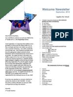 revised third grade supply list 2014