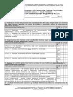 Registro Crit. e Indicadores Ev.lengua .1º Ciclo Pr