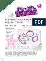 Friendship Bracelets INSTRUCTIONS