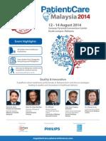 Patient Care Malaysia 2014 Brochure