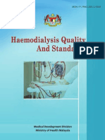 Haemodialysis Quality Standards