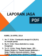 Daftar Pasien Laporan Jaga 24-28 April