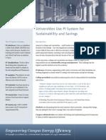 University Sustainability