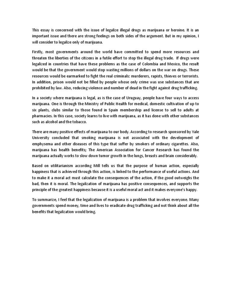 marijuana reflection paper