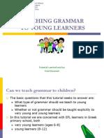 Teaching Grammar to Yls