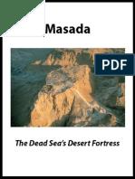 Masada the Dead Seas Desert Fortress