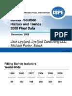 Isolator ISPE Study 2008 Copy