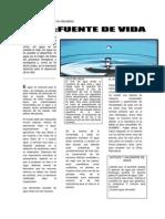 92287189 Articulo Periodistico Del Agua 1