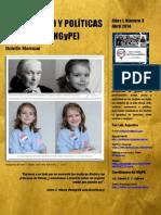 Boletín N° 3 Nodo Género y Políticas de Equidad