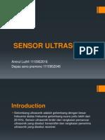 Pengenalan Sensor Ultrasonik