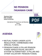 Pension and Mutual Funds in Lithuania. Seminar 09 11 25