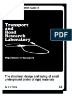 Structural Design and Laying of Underground Drains - O. Young (US DOT 1984) WW
