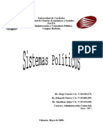 Sistema Politico