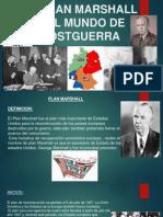 El Plan Marshall y El Mundo de Postguerra