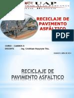 Reciclaje de Pavimento Asfaltico