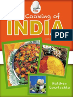 The Cooking of India, 2nd Edition by Matthew Locricchio