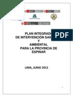 MINAM Plan Integrado de Intervención Ambiental Espinar
